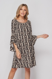Elegance by Sarah Ruhs Bulgari Print Dress - Front full body