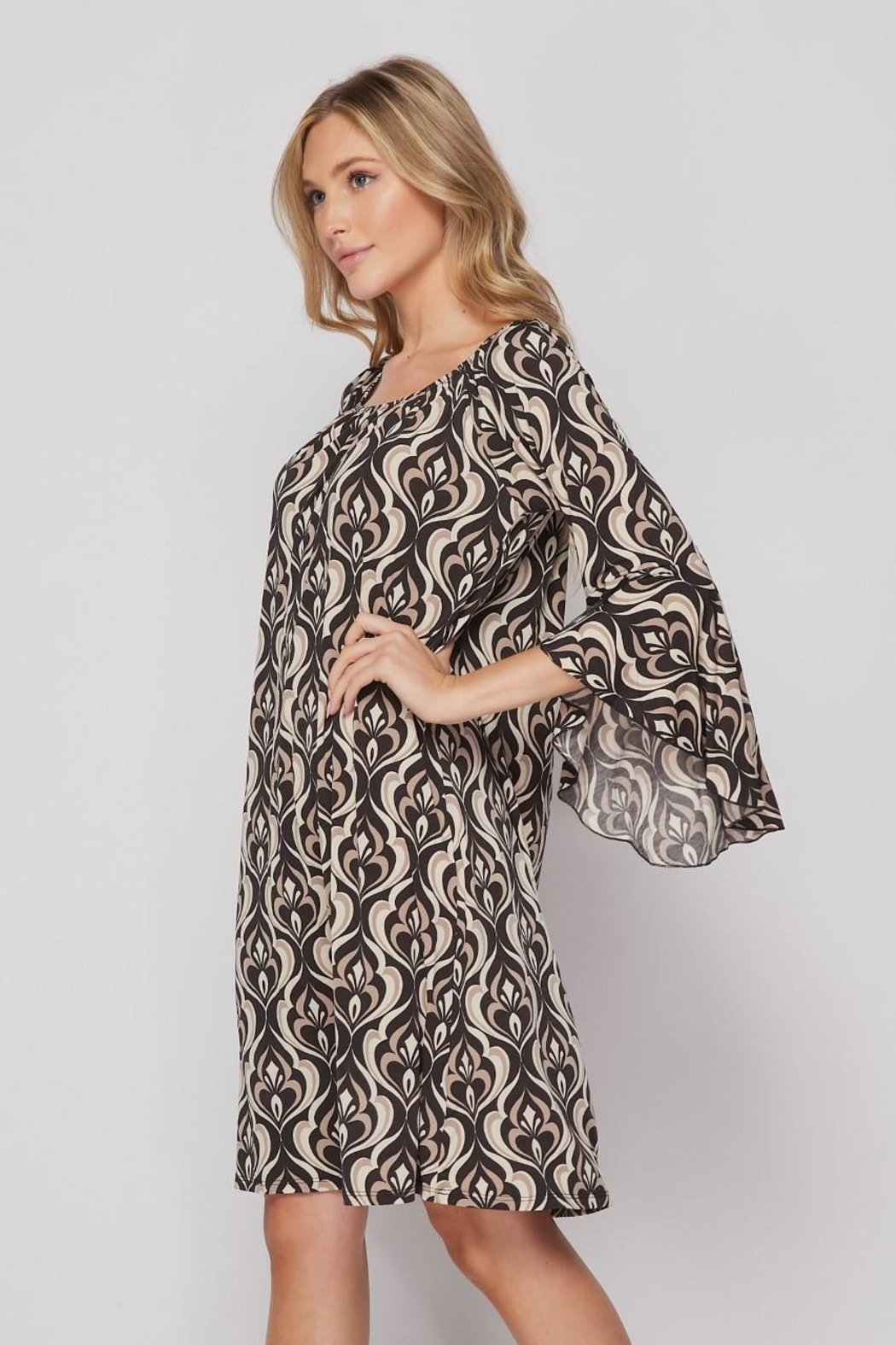 Elegance by Sarah Ruhs Bulgari Print Dress - Main Image