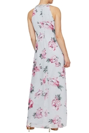 Elegance by Sarah Ruhs Floral Beaded Maxi - Front full body