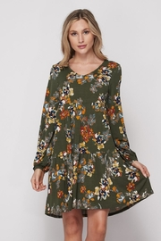 Elegance by Sarah Ruhs Floral Print Dress - Product Mini Image