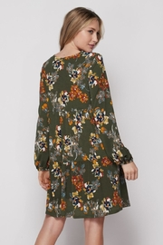 Elegance by Sarah Ruhs Floral Print Dress - Front full body