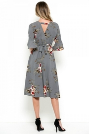 Elegance by Sarah Ruhs Foral Print Dress - Front full body