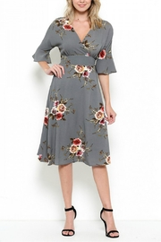 Elegance by Sarah Ruhs Foral Print Dress - Front cropped