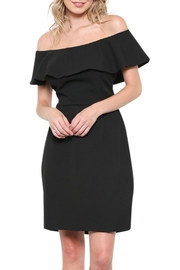 Elegance by Sarah Ruhs Off Shoulder Dress - Product Mini Image
