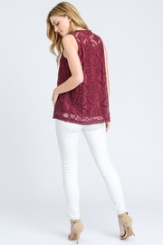 Elegance by Sarah Ruhs Sleeveless Lace Top - Product Mini Image