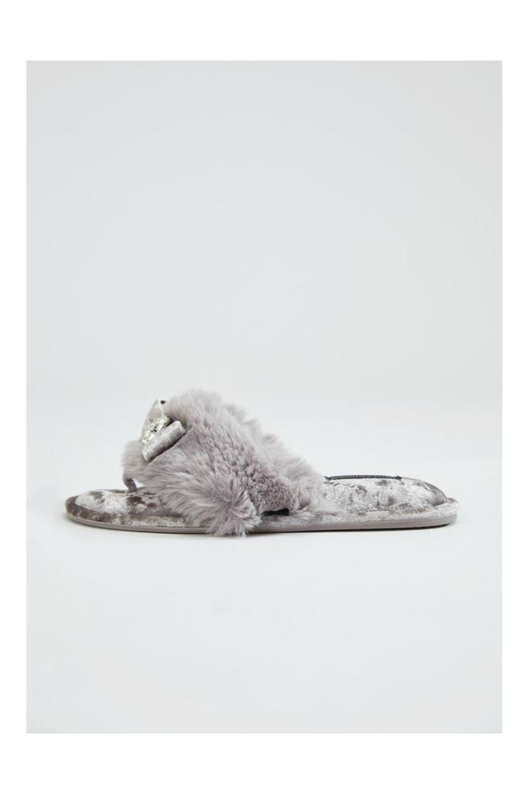 Pretty You London Elegant Amelie Slipper - Front Cropped Image