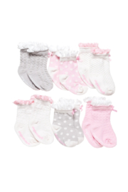 Elegant Baby 6 PK Socks - Product Mini Image