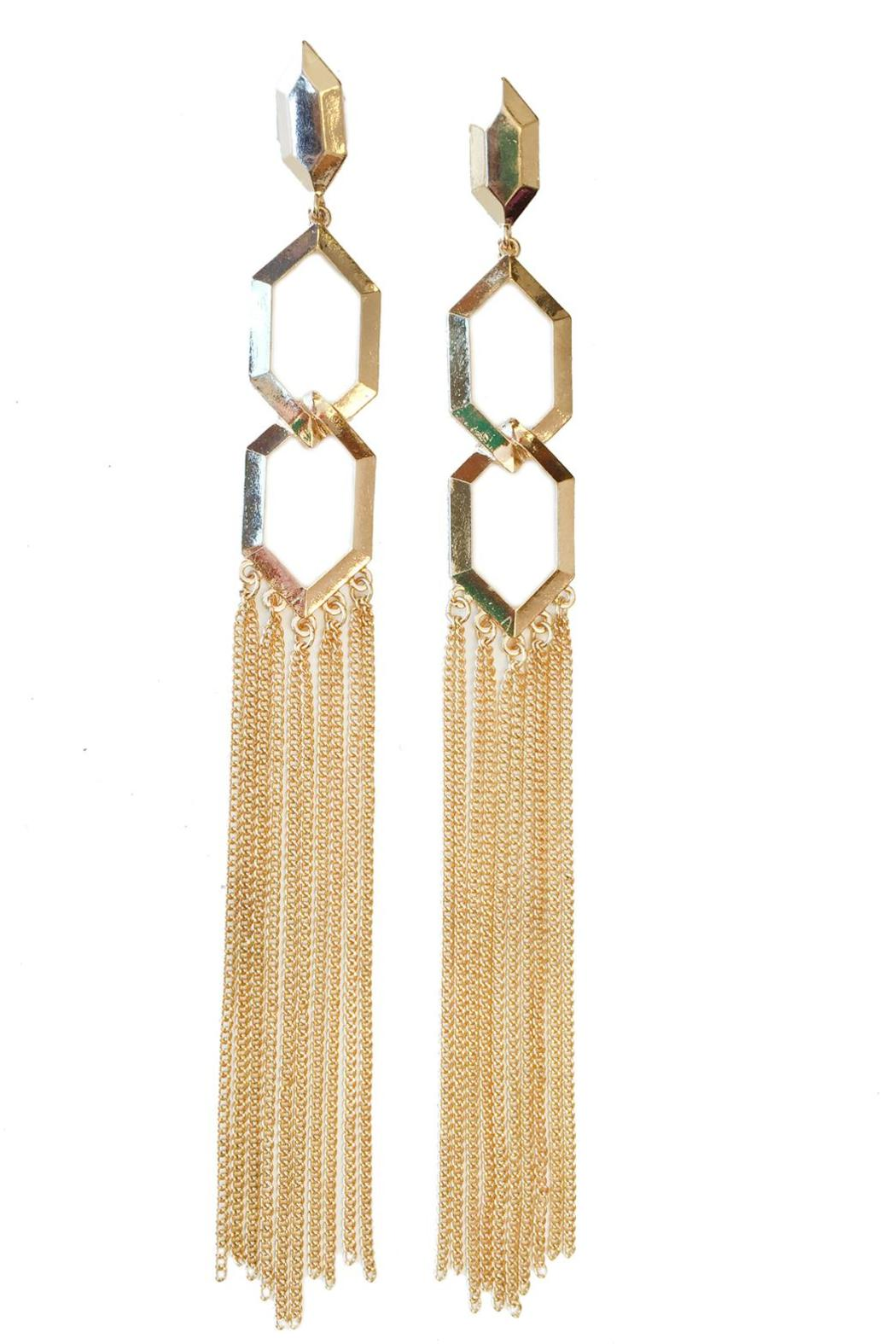 Elegant chandelier earrings from las vegas by glam squad shop elegant chandelier earrings front cropped image arubaitofo Image collections