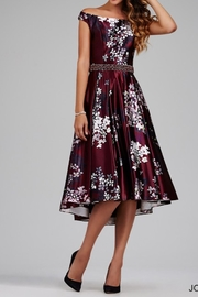 Jovani Elegant Floral Dress - Product Mini Image