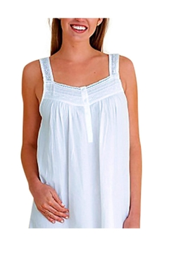 Jacaranda Living Elegant Sleeveless Nightgown - Product List Image