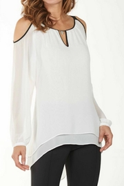 Frank Lyman Elegant White Top - Product Mini Image
