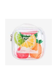 Elegant Baby Fruit Party Bath Squirties - Front full body
