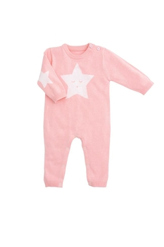 Shoptiques Product: Star Pink Jumpsuit