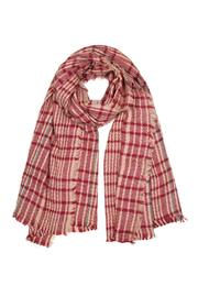 Elegant Essence Oblong Plaid Scarf - Product Mini Image