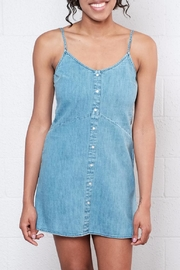 element Denim Mini Dress - Product Mini Image