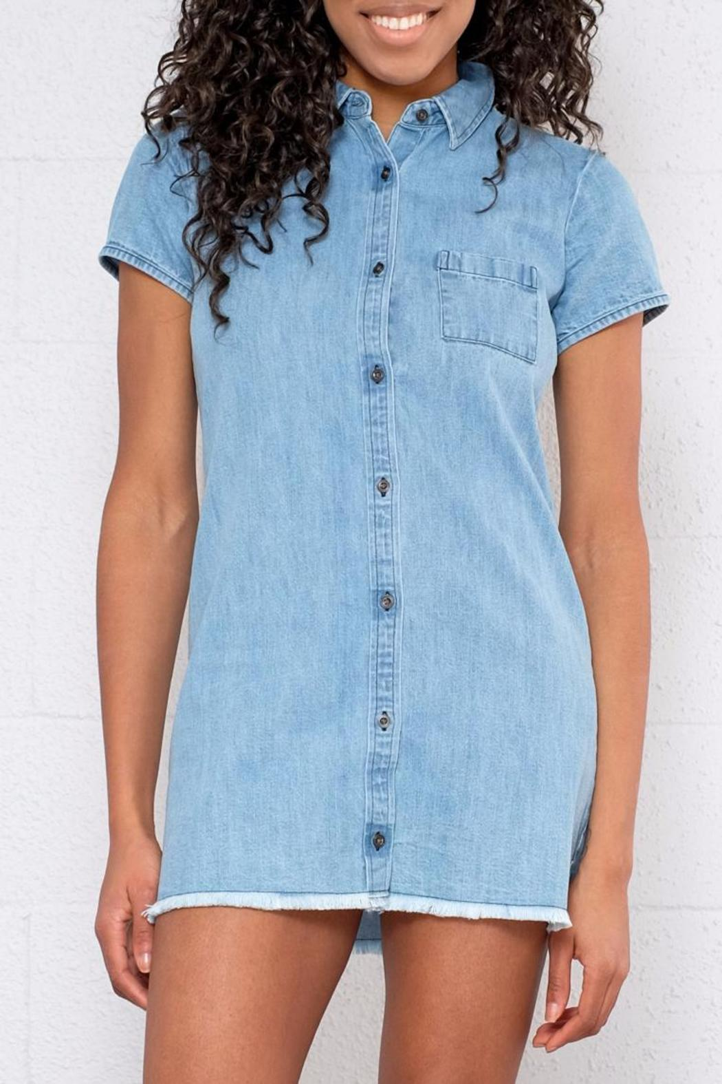 56f2d5a0fbf element Denim Shirt Dress from Vancouver by 8th   Main — Shoptiques