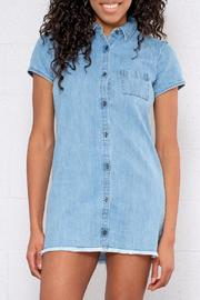 element Denim Shirt Dress - Product Mini Image