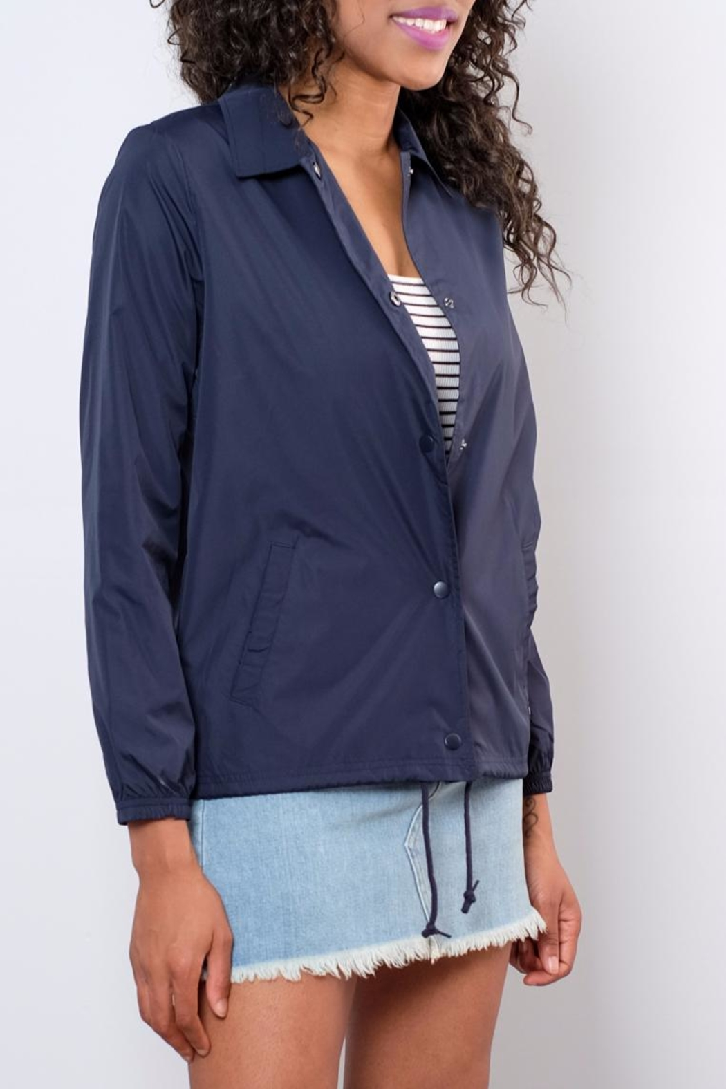 element Lightweight Coaches Jacket - Side Cropped Image