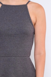 element Ribbed Fit-And-Flare Dress - Back cropped
