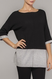Elena Wang Color Block Tunic - Product Mini Image