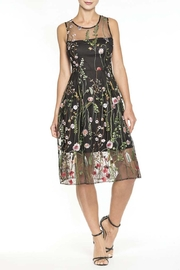 Elena Wang Floral Party Dress - Product Mini Image