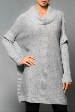 Elena Wang Speckled Poncho Sweater - Alternate List Image