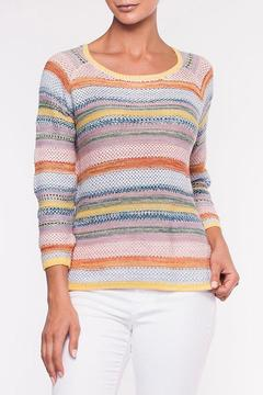 Shoptiques Product: Stripe Pullover Sweater