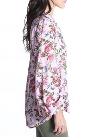Kut from the Kloth Elenie Floral Top - Front full body