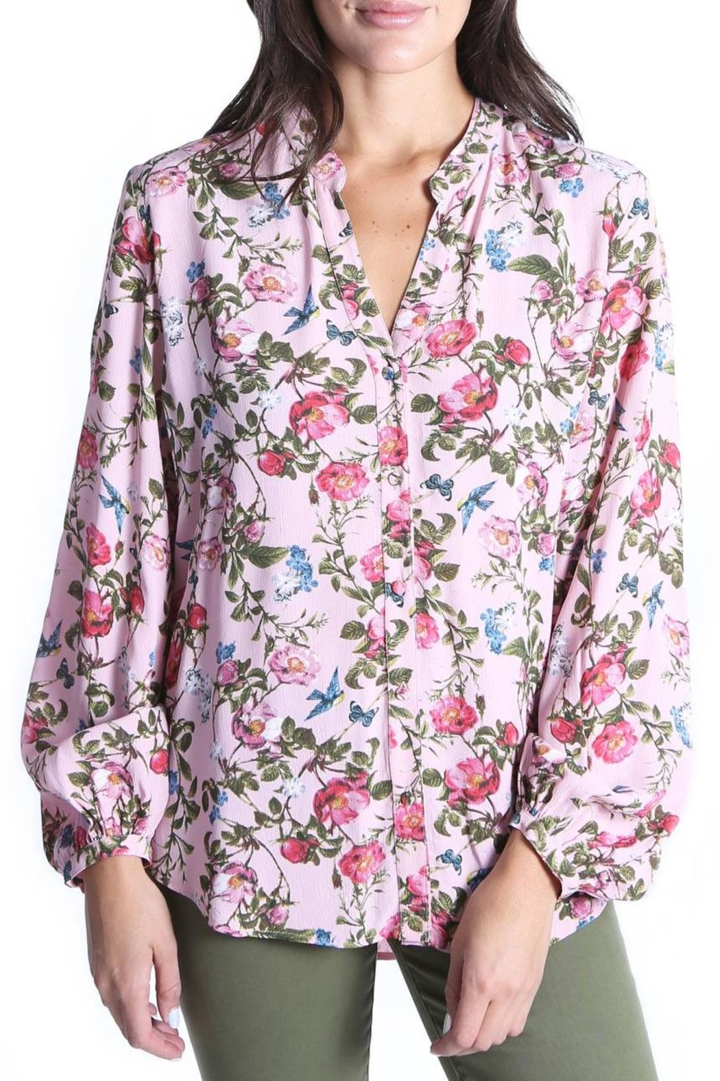 Kut from the Kloth Elenie Floral Top - Main Image