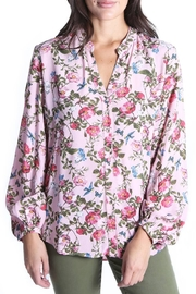 Kut from the Kloth Elenie Floral Top - Product Mini Image