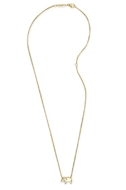 Alex and Ani Elephant Adjustable Necklace - Front full body