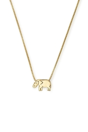 Alex and Ani Elephant Adjustable Necklace - Front cropped