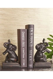 Lets Accessorize Elephant Book Ends - Front full body