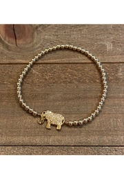 Allie & Chica Elephant Bracelet Gold - Product Mini Image