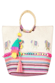 Patricia's Presents Elephant Embellished Handbag - Product Mini Image