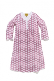 Roberta Roller Rabbit Elephant Girls Nightgown - Front cropped