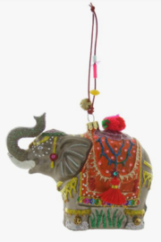 Cody Foster Elephant Ornament - Front cropped