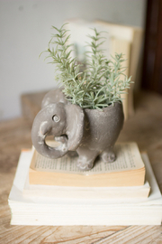 Kalalou ELEPHANT PLANTER - Product Mini Image