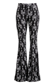 Fashionomics All-Over Elephant Bell-Bottoms - Product Mini Image