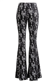 Fashionomics All-Over Elephant Bell-Bottoms - Side cropped