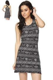 Ambiance Elephant Print Dress - Product Mini Image