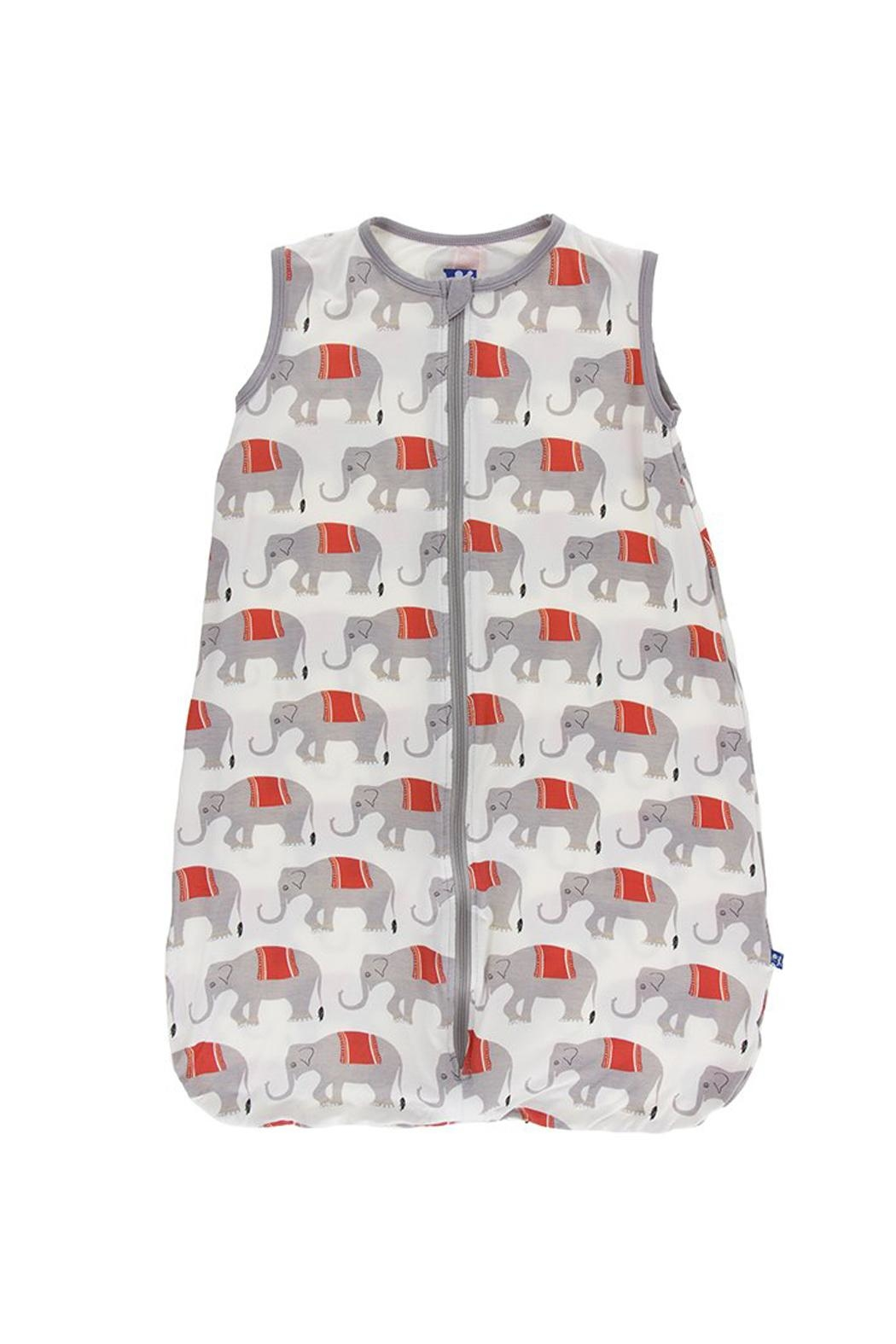 Kickee Pants Elephant Sleeping Bag - Front Cropped Image