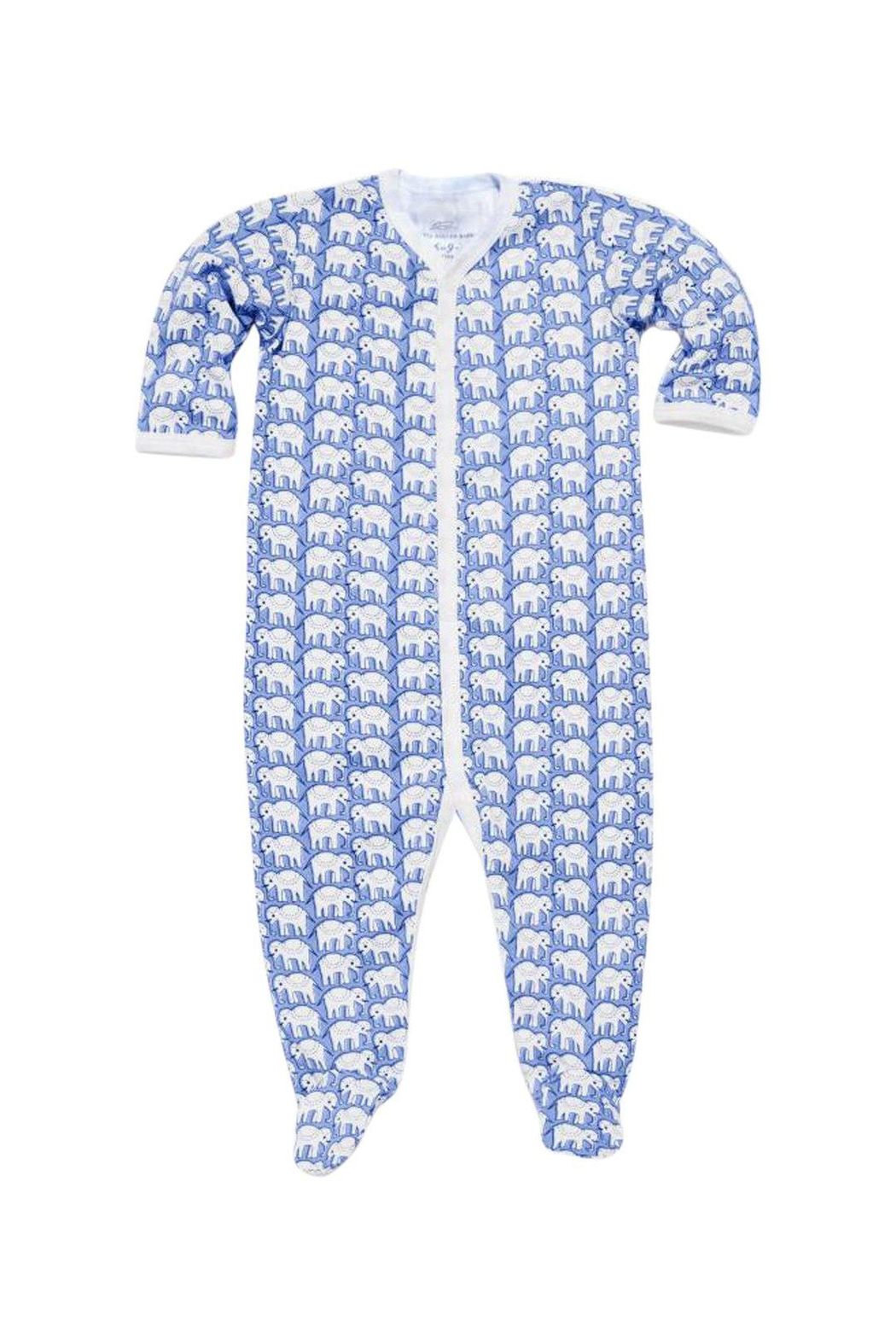 Roberta Roller Rabbit Elephant Snap Suit - Front Cropped Image