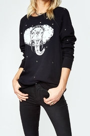 Lauren Moshi Elephant Stud Pullover - Front cropped