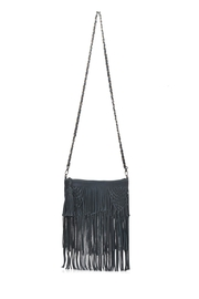 Elf Handmade Fringe Cross-Body Bag - Product Mini Image