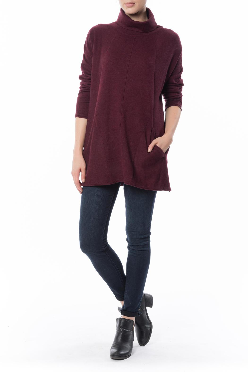 Eli-Bet Turtle Neck Tunic from Manhattan by Montmartre ...