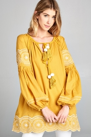 Racine Eli Boho Blouse - Product Mini Image