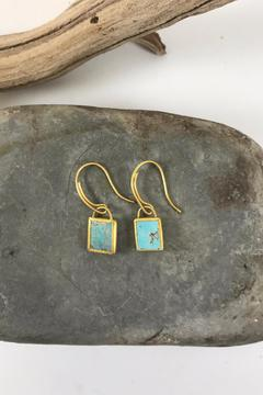 Eli Halili Precious Turquoise Earrings - Alternate List Image