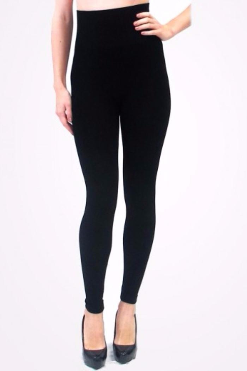 Elietian High Waisted Leggings - Front Cropped Image