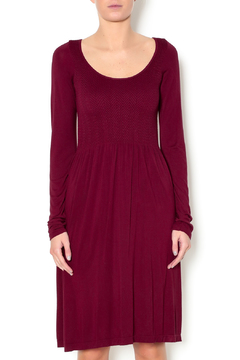 Shoptiques Product: Long Sleeve Scoop dress
